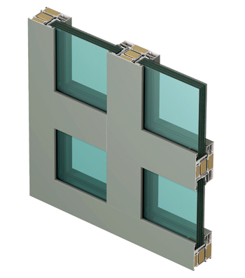 The CS 77-FP composite window.