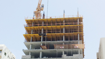 Paschal has supplied formwork for an 18-storey building in Juffair for Hassan Al Ansari.