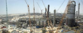 Sadara complex, Jubail ... single phase development.