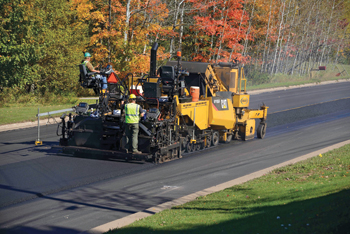 The AP1055F paver ... high performance.