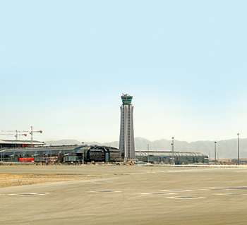 Phase One of Muscat International Airport expansion ... to handle 12 million visitors annually.