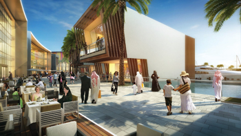 Bahrain Marina development ... set for five-star status.