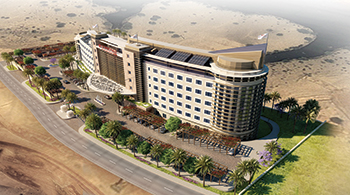 Crowne Plaza ... to be built by L&T Oman.