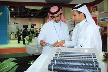The show is an ideal platform for construction companies to showcase new products.