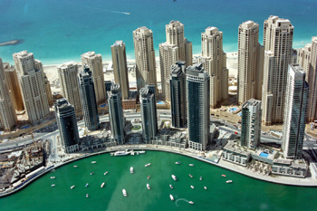 Jumeirah Beach Residence ... supplied to by Kale.