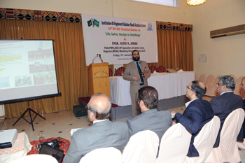 Afridi at the seminar in Riyadh.