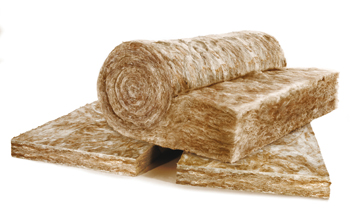 Glasswool insulation with Ecose... revolutionary new technology.