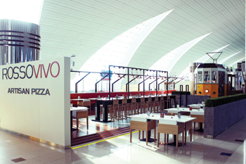 The Rossovivo at the Dubai International Airport.