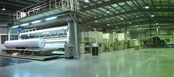 Alyaf's state-of-the-art production facility.