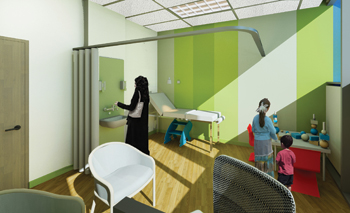 SSH maintained a child-friendly environment throughout its design.
