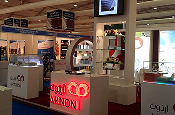 Arnon Plastic Industries' stand at The Big 5 Saudi, which was held in Jeddah last month.