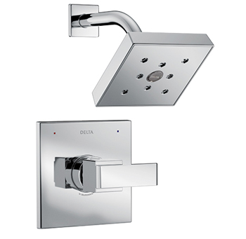The Ara showerheads ... feature H2O technology.