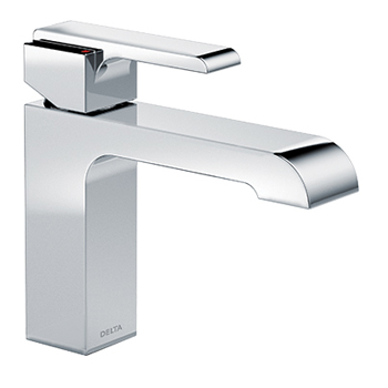 In context ... Ara single-handle faucet.