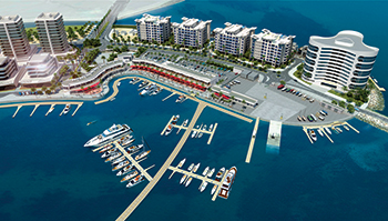 Durrat Marina, Phase One ... in progress.