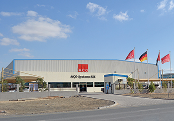 ACO Systems in Jebel Ali ... a fully functional manufacturing unit.