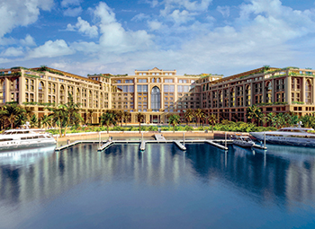 Palazzo Versace ... two-hour fire-rated acoustic ceiling systems, and firestop and standard boards provided.