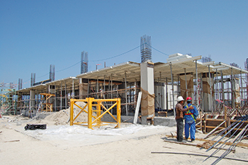Azure Residence project ... Meva formwork  for walls and slabs.