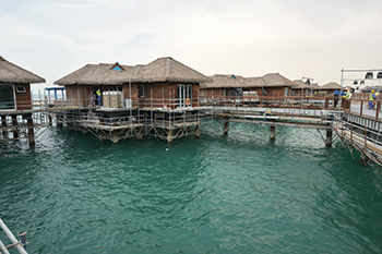 Banana Island resort ... Maldives style.