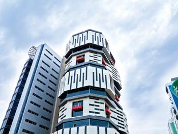 The Salata Building in Qatar ... striking aesthetics.