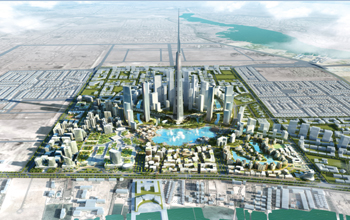The Kingdom Tower will be the centrepiece of Kingdom City.