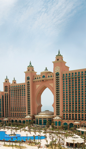 Atlantis The Palm, Dubai ... debut project for BASF's Senergy EIFS.