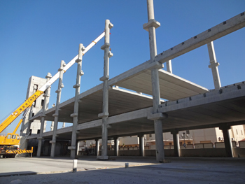 QDC has supplied its full-frame precast components to various projects in the kingdom.
