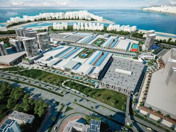 An artist's impression of Deira Islands Mall.