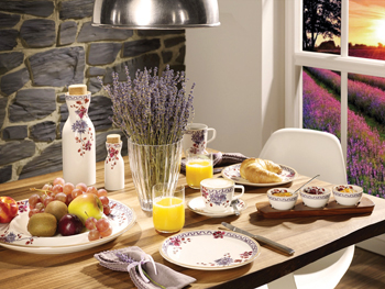 V&B's Artesano Provencal Lavender collection.