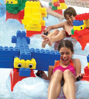 Legoland Water Park ... fun-filled destination.