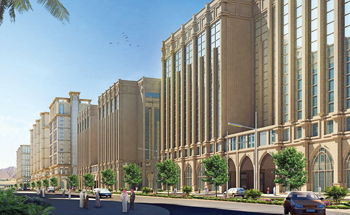 The towers that form part of Dar Al Hijrah ... Zamil Air Conditioners has won a massive order for the project.