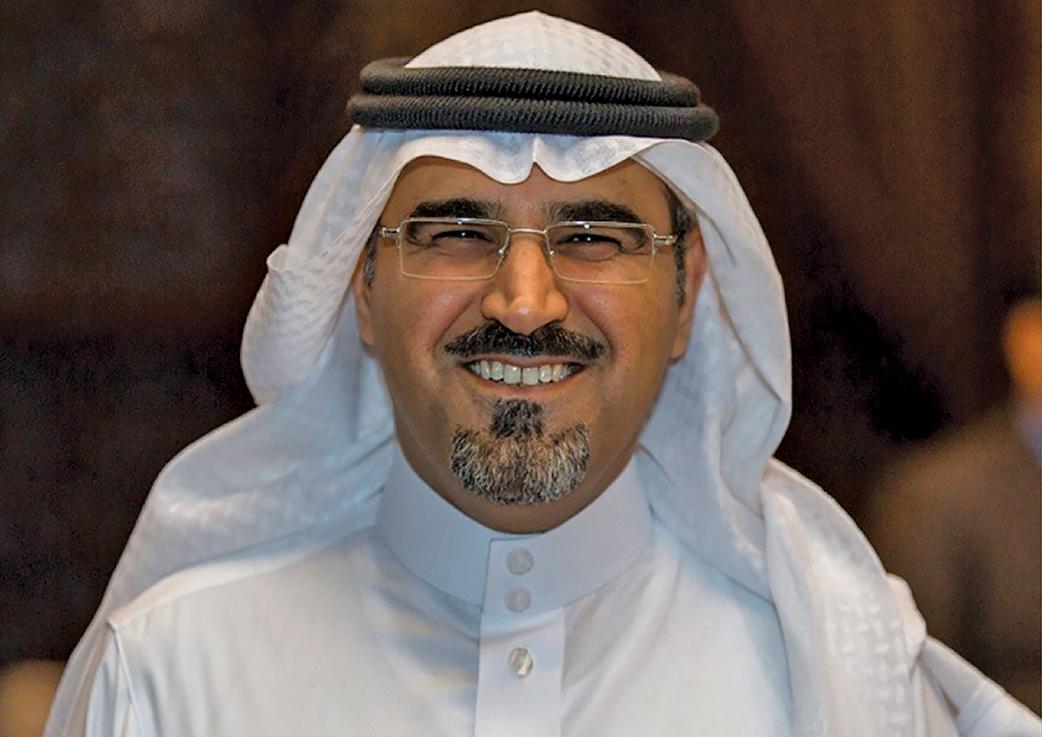 Al Otaibi ... moving into specific new areas.