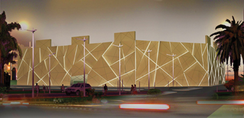 Sama Mall in Kuwait ... cladding solution from Mulk  Holdings.