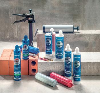 Rawlplug's range of fixing solutions.