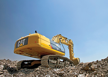 The new Cat 340D2 L hydraulic excavator … fuel savings.