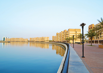 Mina Al Arab ... waterfront homes.
