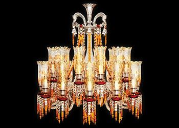A Zenith chandelier ... timeless.