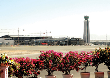 Muscat International Airport ... work in progress.