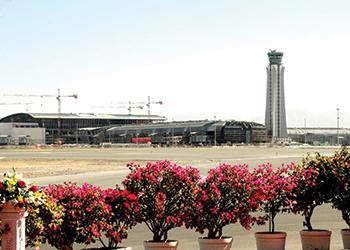 Muscat International Airport ... work in progress.