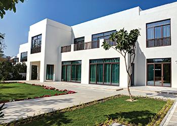 A modern Arabic-style villa.