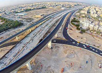 The Jahra Road development ... significant progress.