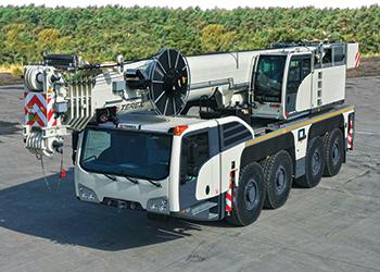 Terex AC 100/4L all-terrain crane ... compact machine.