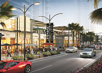 The Drive at Akoya ... retail strip.