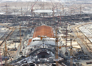 King Abdulaziz International Airport in Jeddah ... under way.