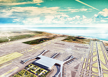 The new international airport planned for Istanbul ... architectural masterpiece.