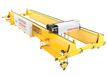 Smarton has a lifting capacity of up to 250 tonnes.