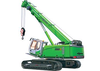 The 653 E-Series ... 30.4 m boom.