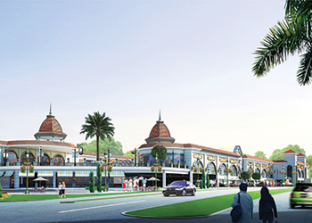 An artist's impression of the project.