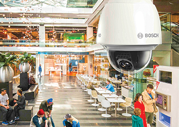 Autodome IP 4000-5000 series (left) cameras.