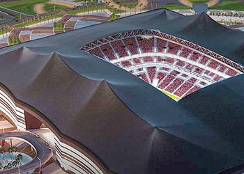The Al Bayt stadium in Al Khor.