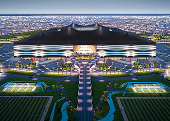Al Bayt stadium, Qatar.
